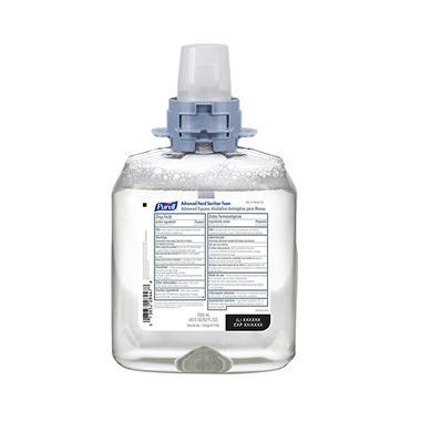 Purell Advanced FMX-12 Foam Instant Hand Sanitizer with Moisturizer Refill - 1200ml