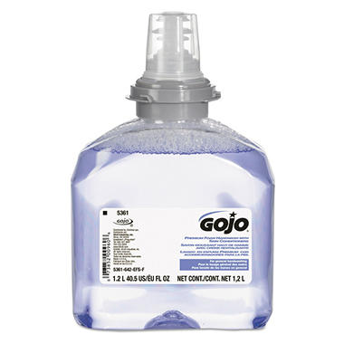 Gojo® TFX Premium Foam Hand Wash Refill - 1200 mL - 2 pack