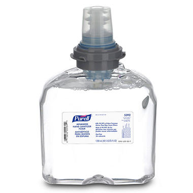 Purell Advanced TFX Foam Instant Hand Sanitizer Refill - 1200ml - White