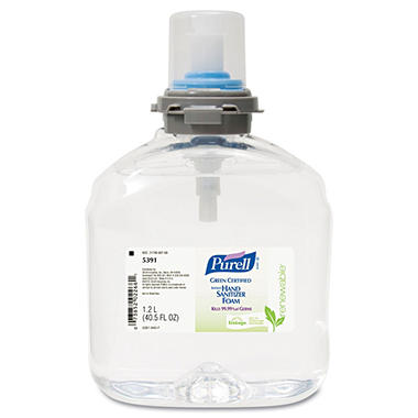 Purell TFX Green Certified Instant Hand Sanitizer Foam Refill - 40.5 oz.