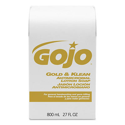 Gojo® Gold & Klean Lotion Soap Refill - 800 mL