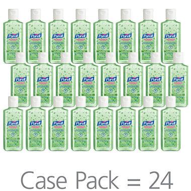 Purell Instant Hand Sanitizer with Aloe Flip-Cap Bottles - 4 oz. - 24 pk.