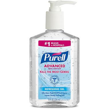 Purell Instant Hand Sanitizer - 8 oz