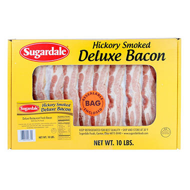 Sugardale® Deluxe Style Bacon - 10 lb.