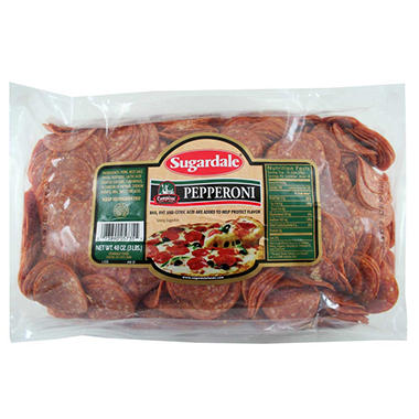Sugardale Campioni Style Pepperoni (3 lb.)