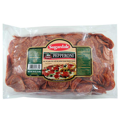 Sugardale Campioni Style Pepperoni - 3 lbs.