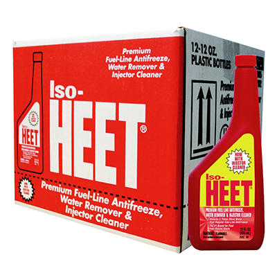 ISO-HEET(r) Injector Cleaner / Gas-Line Antifreeze - 12/ 12 oz. bottles