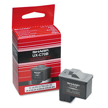Sharp UXC70B Fax Ink Cartridge