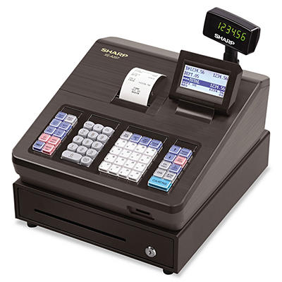 Sharp XE-A207 Cash Register - 2500 LookUps - 99 Dept. - 25 Clerks