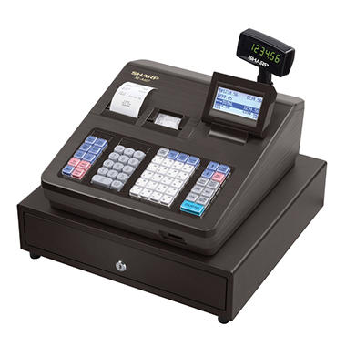 *$259.98 after $20 Online Exclusive Savings* Sharp XE-A407 Cash Register, 7000 LookUps, 99 Dept - 40 Clerk