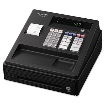 Sharp - XEA107 Cash Register, 80 LookUps, 8 Dept - 4 Clerk