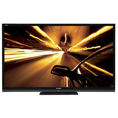 "70"" Sharp Aquos Quattron LED 1080p AquoMotion 240 HDTV"