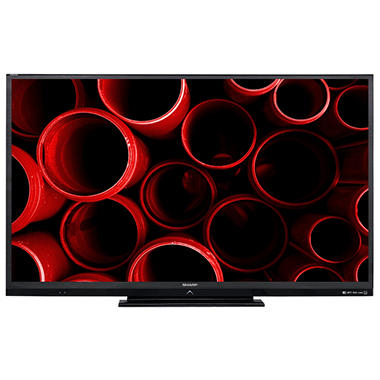 "60"" Sharp Aquos LED LCD 1080p AquoMotion 240 HDTV w/ Wi-Fi"
