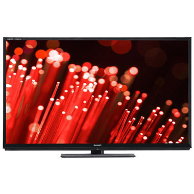 "60"" Sharp AQUOS 3D LED 1080p AquoMotion 480 HDTV w/ 2 3D Glasses"