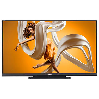 "70"" Sharp Aquos LED 1080p 120Hz Smart HDTV w/ Wi-Fi"