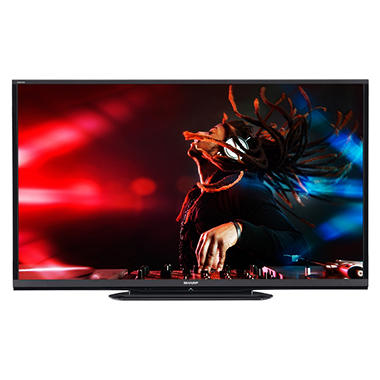 "60"" Sharp Aquos LED 1080p 120Hz Smart HDTV w/ Wi-Fi"