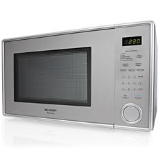 Sharp 1.1 cu. ft. Stainless Steel Countertop Microwave