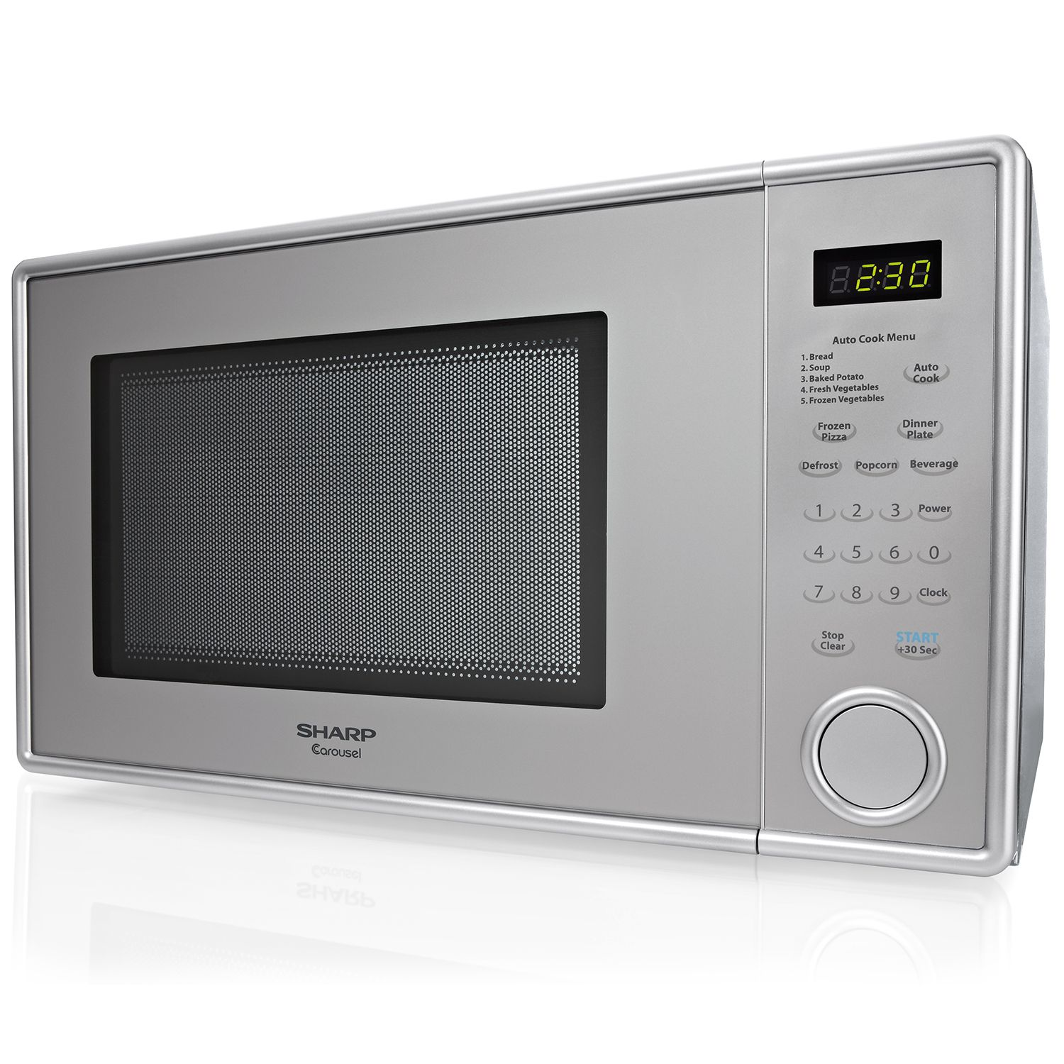 Sharp 1.1 cu. ft. Stainless Steel Countertop Microwave at Sears.com