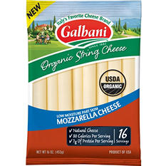 Galbani Organic String Cheese (16 ct.)