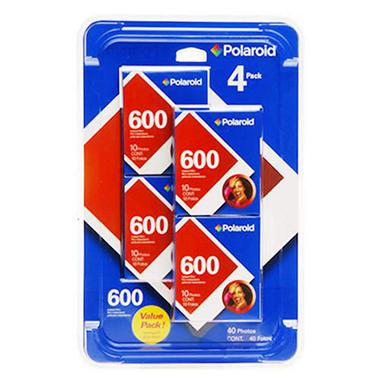 Polaroid 600 Instant Film - 4 pk.
