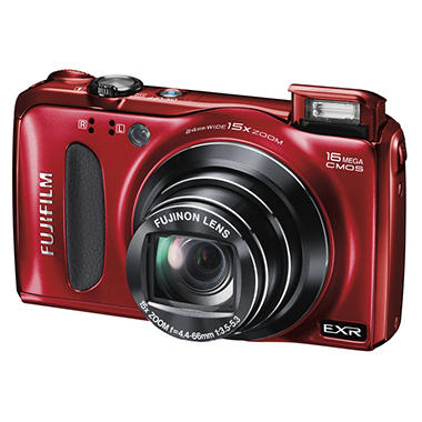 Fujifilm Finepix F660EXR 16MP Digital Camera - Red