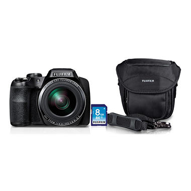Fuji FinePix S8200 Bundle with SD Card and Camera Case