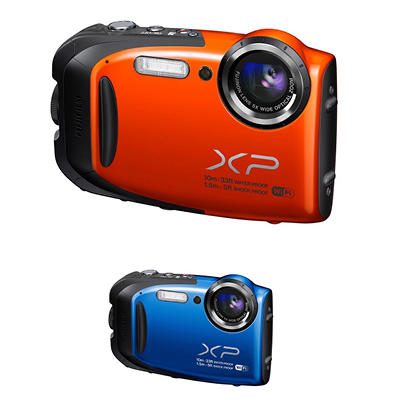 FUJIFILM FinePix XP70 16.4MP CMOS Waterproof Camera with 5x Optical Zoom - Various Colors