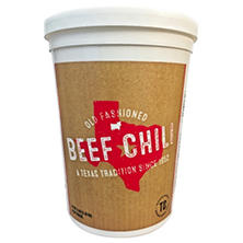 Texas Chili Company One Step Beef Chili (5 lb. tub)