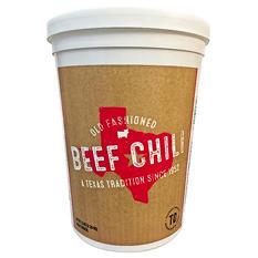 Texas Chili Company One Step Beef Chili (5 lb. tub)