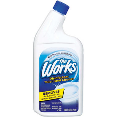 The Works Toilet Bowl Cleaner - 32 oz. bottle - 6 pk.