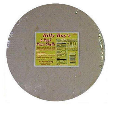 Billy Boy's Pizza Shells 12