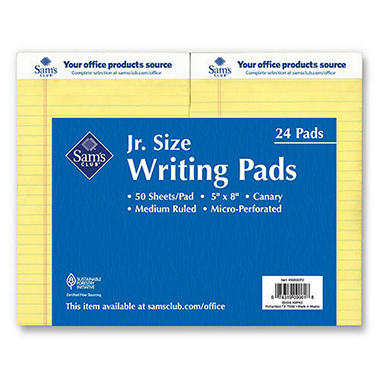 Sam's Club Junior Legal Pad - 5