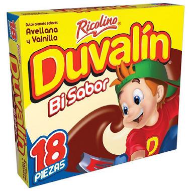 Ricolino Duvalin Hazelnut And Vanilla Candy 18 Ct Sam