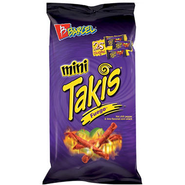 Barcel Mini Takis Fuego - 25 ct.
