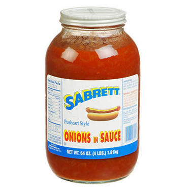 Sabrett Pushcart Style Onions in Sauce 64oz