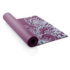 Lotus Printed Yoga Mat, Magenta