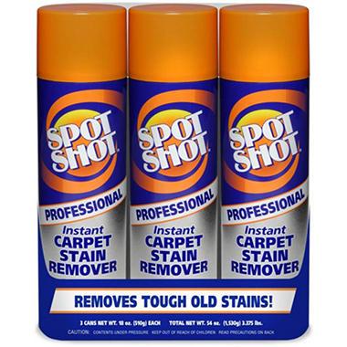 Spot Shot Prof. Carpet Stain Remover - 3/18 oz.