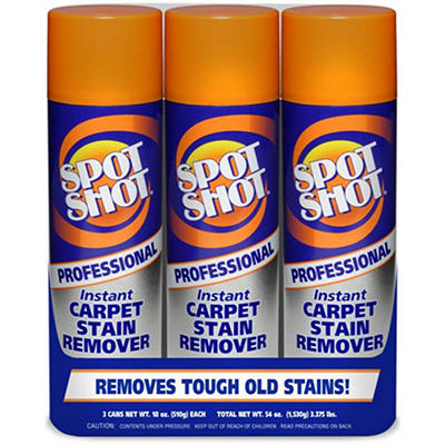 Spot Shot Prof. Carpet Stain Remover - 3/18 oz.