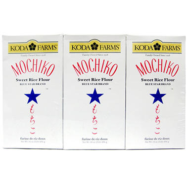Koda Farms? Mochiko Blue Star Brand� Sweet Rice Flour - 6/16 oz.