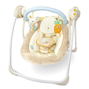 Bright Starts Cotton Tale Portable Swing