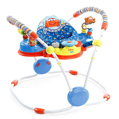 Disney Baby CARS Ready, Set, Go Activity Jumper