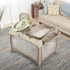 Ingenuity Washable Playard Deluxe with Dream Centre, Seneca