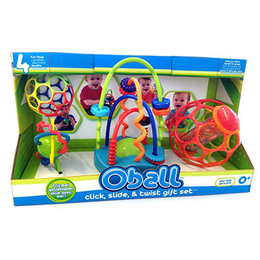 Oball Click, Slide & Twist Gift Set