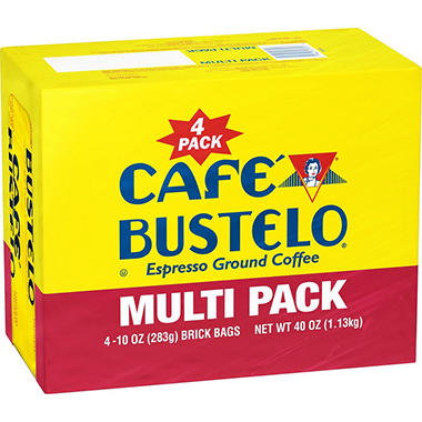 Cafe Bustelo Ground Coffee - 10 oz. - 4 pk.