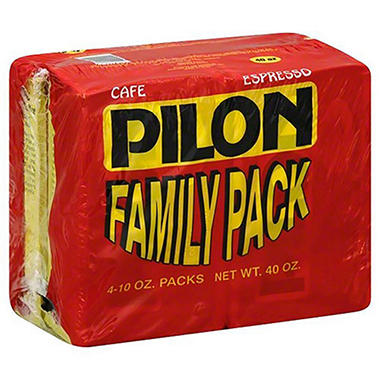 Cafe Pilon Ground Coffee (10 oz., 4 pk.)