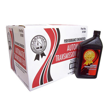 Certified Dexron-III/Mercon Automatic Transmission Fluid - 1 Quart Bottles - 12 pack