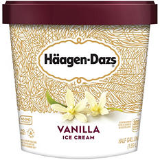 Häagen-Daz Vanilla Ice Cream - 64 oz.