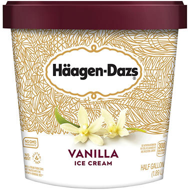 H�agen-Daz Vanilla Ice Cream - 64 oz.