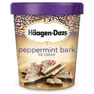 Haagen-Dazs� Peppermint Bark Ice Cream - 28 oz.