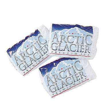 Arctic Glacier™ Premium Ice - 6/7 lb. packages